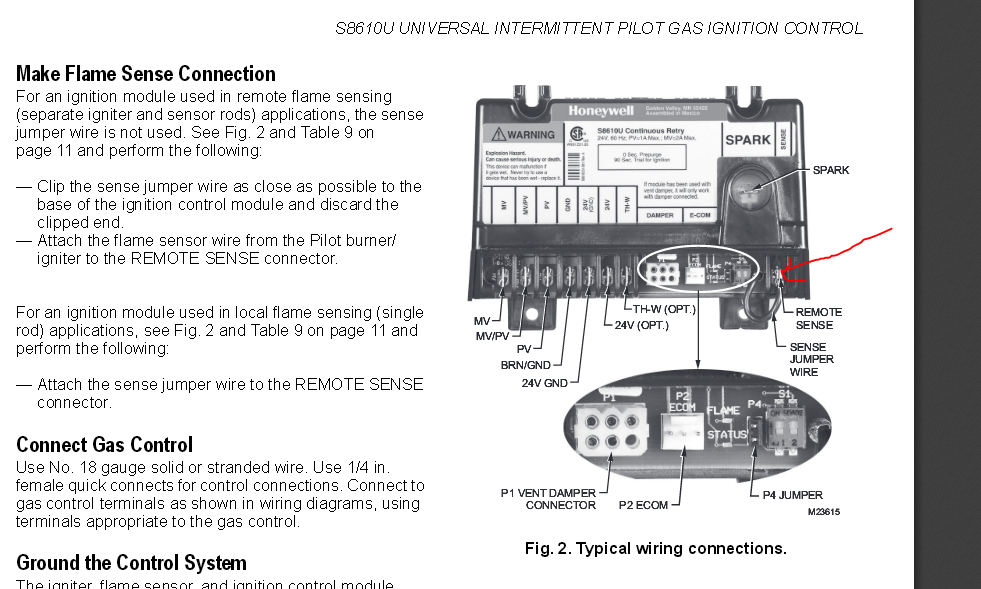 Contemporary Honeywell Burner Control Wiring Diagram Images - Simple ...
