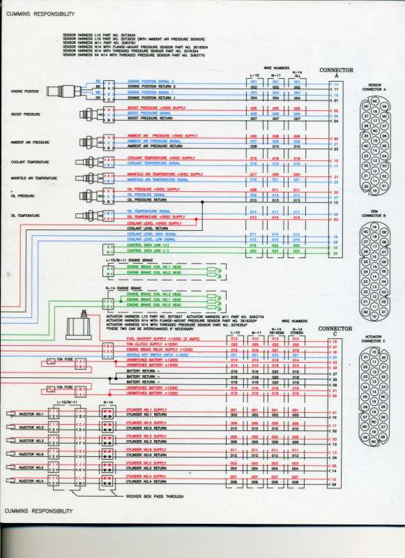 i have a 2005 9200 isx same problem with the six oil ... wiring diagram for 1996 club car 48 volt