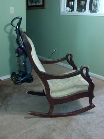 gooseneck rocking chair -2