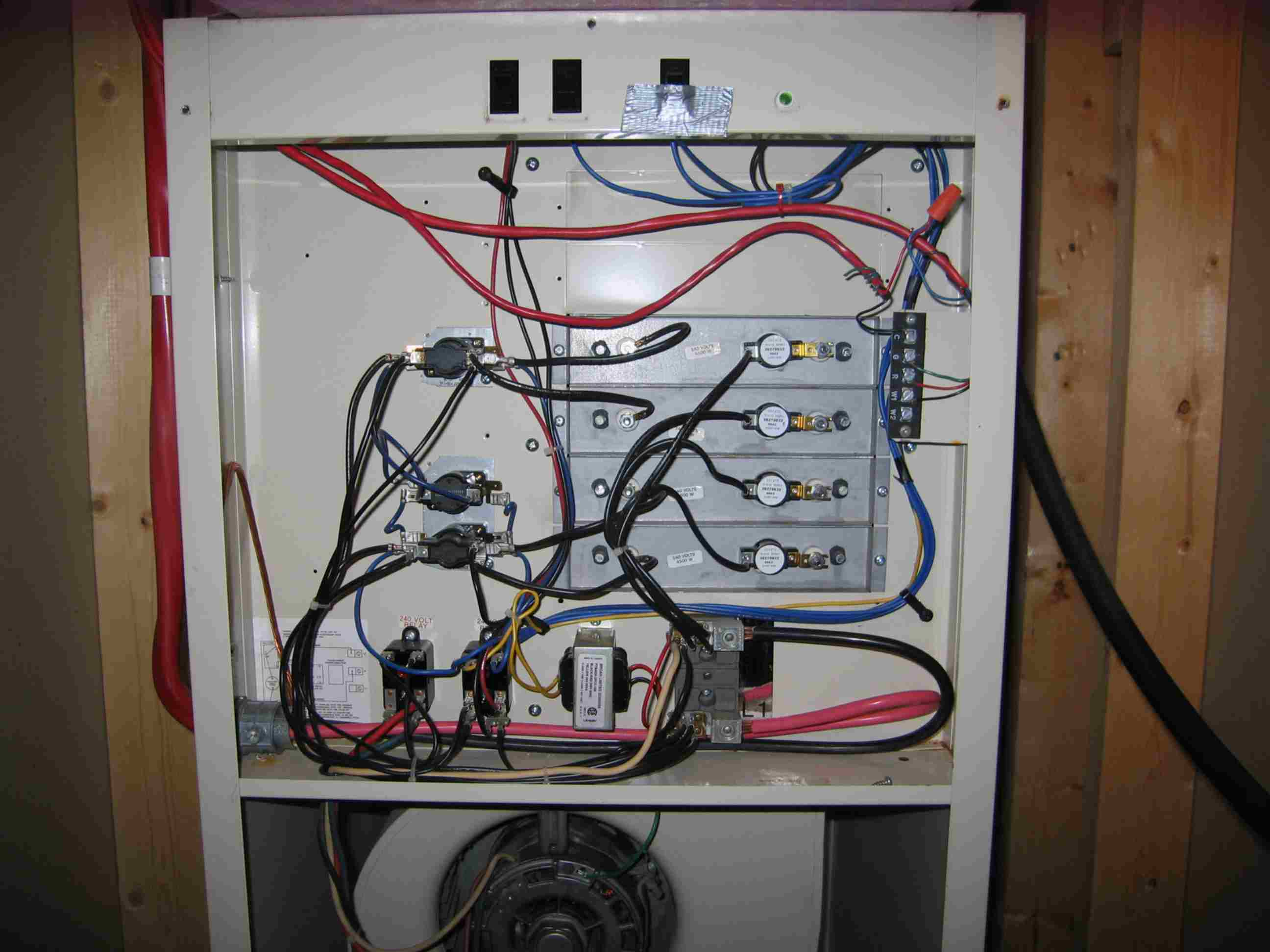 Troubleshoot Nortan Electrical Furnace