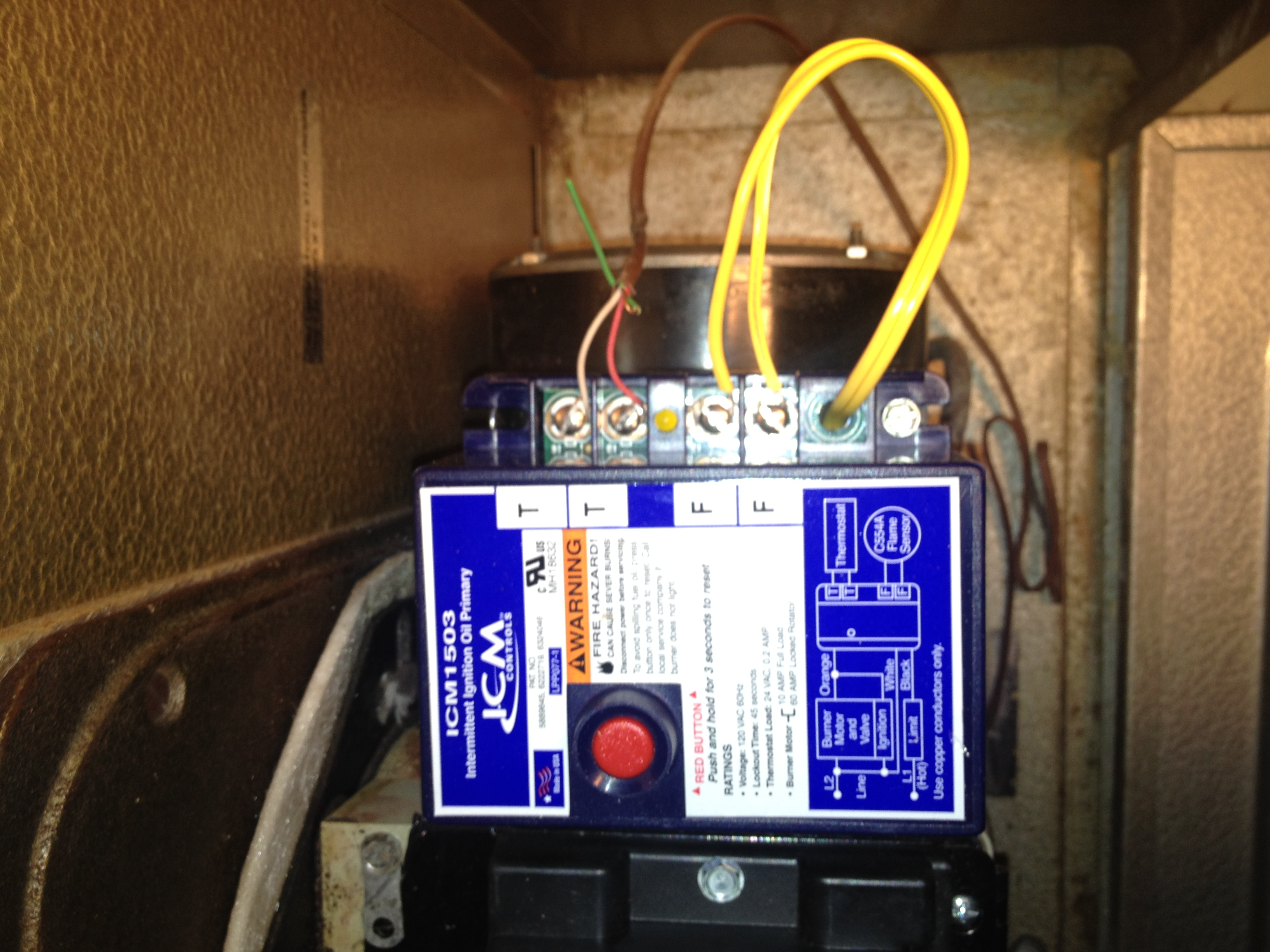 No C Terminal On Furnace To Connect Programmable Thermostat Wiring A