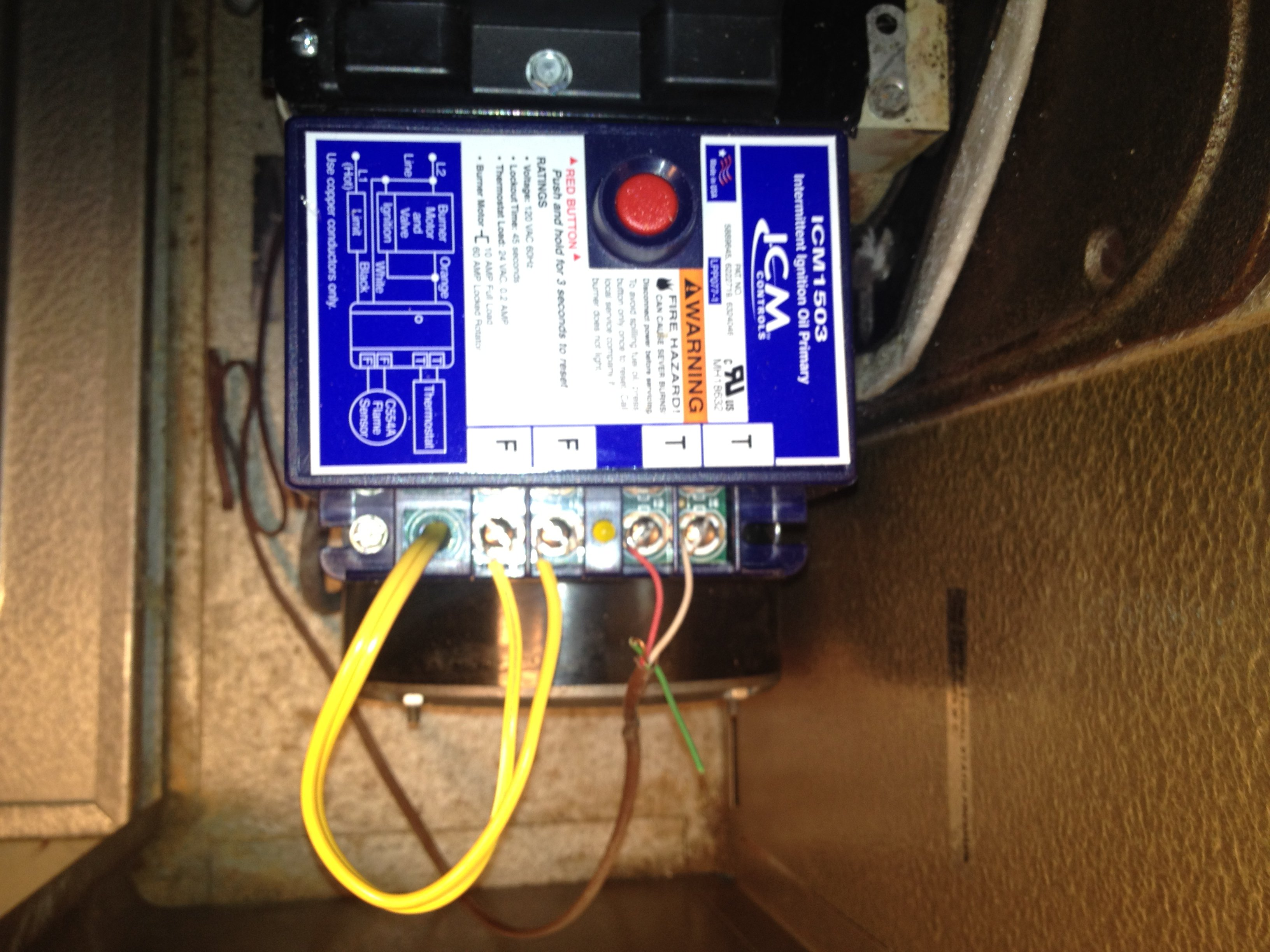 No C Terminal On Furnace To Connect Programmable Thermostat