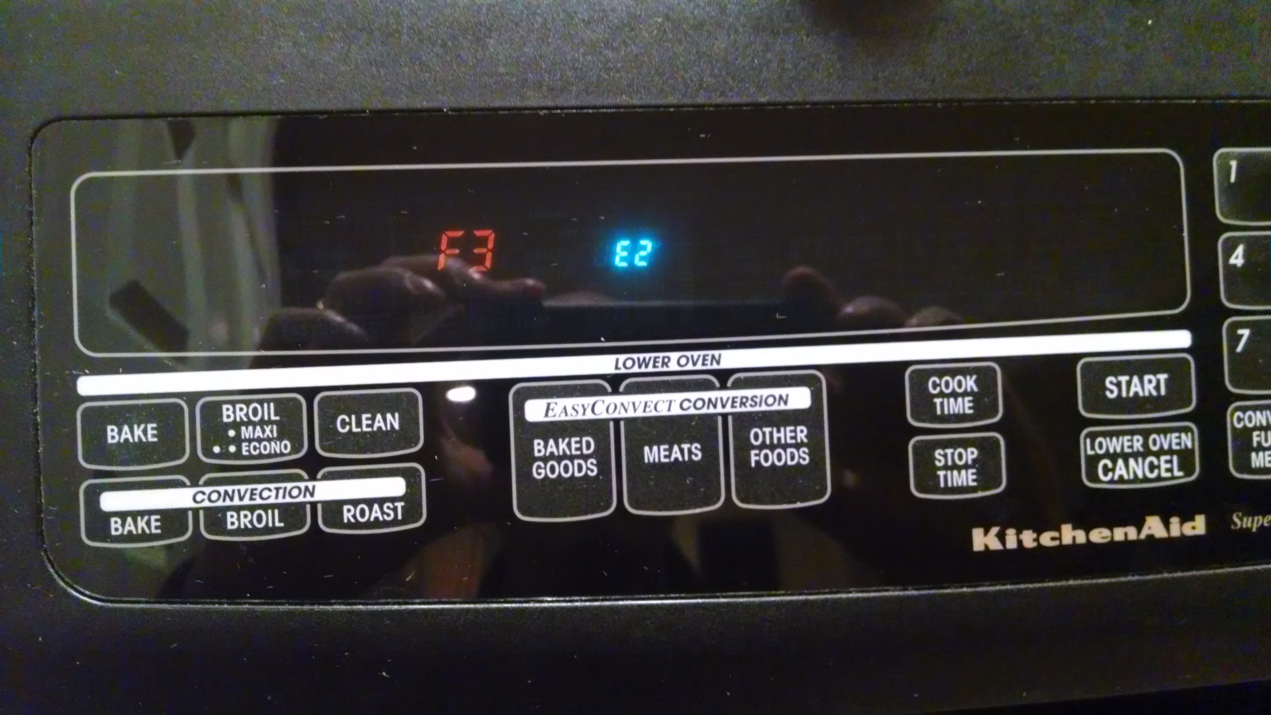 I Ve A Kitchenaid Superba Microwave And Oven Combo While