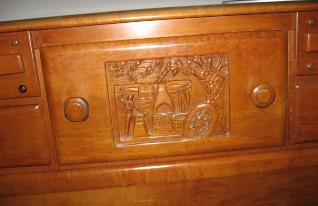 I Have A Large Heavy Oak Believe Dresser That Bought