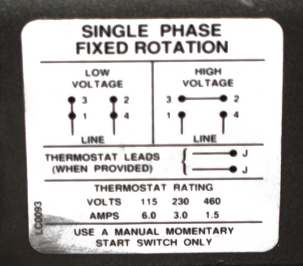 208v Single Phase Capacitor Wiring | Wiring Diagram on