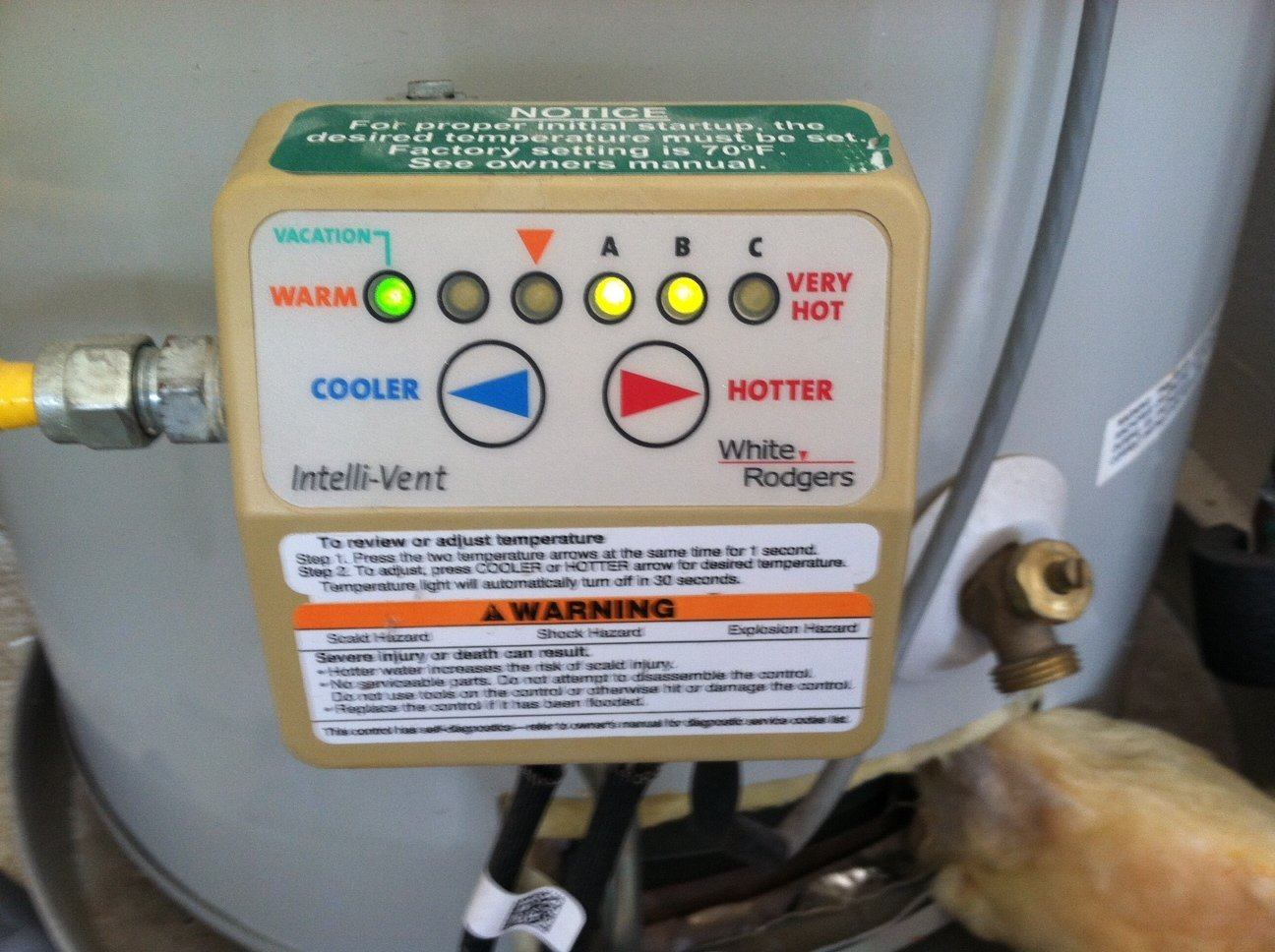 How To Turn Vacation Mode Off On Ao Smith Water Heater