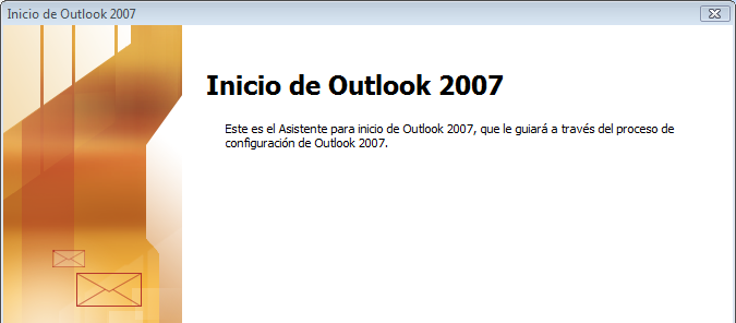 wizard 01 Configurar Hotmail en Outlook 2007