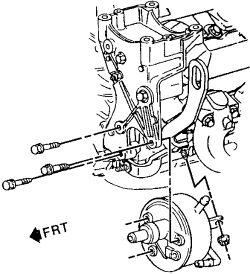 2wd7d Remove Power Steering Pump 95 Gmc Safari