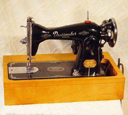 Need information about an antique Dressmaker sewing machine.