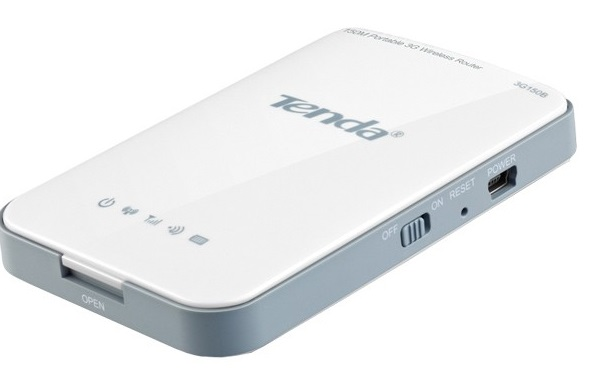 a 3g portable router for tablet