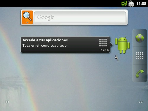 Android 2.3 x86 1 500x375 Android 2.3 Gingerbread en tu PC