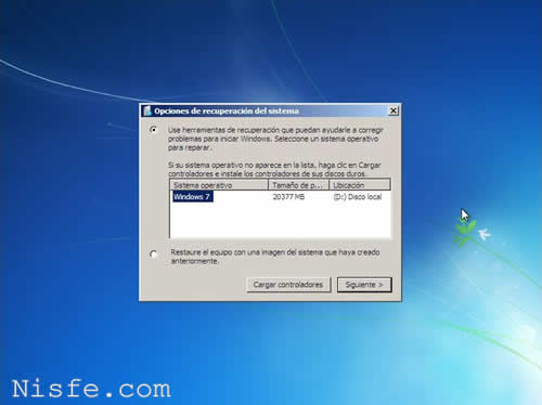 Como Reparar el MBR de Windows 7