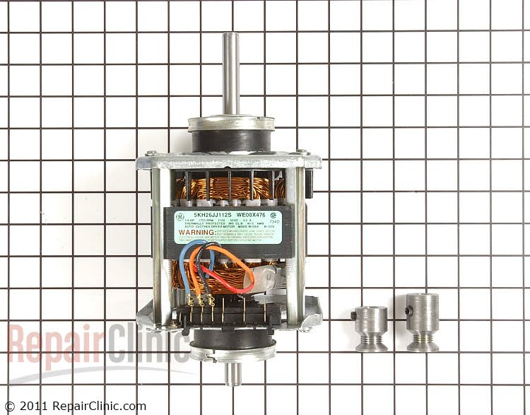 G E  Dryer Model Dlb2650bbl Wh  My Wiring From The Motor