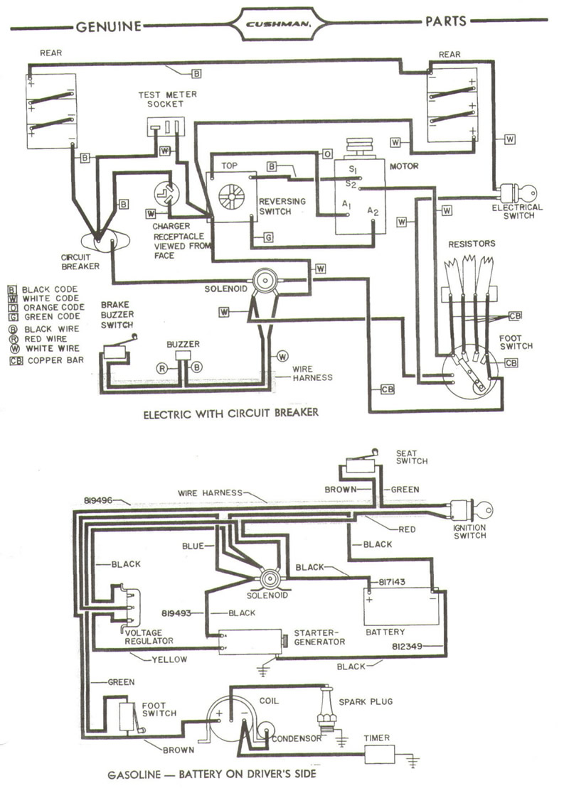 golf cart wiring diagram 36 volt 4 speed curtis. i have a gran cushman golfster gc300. it will go ... club car golf cart wiring diagram 36 volts w 1 12 volt and 3 8 volt batteries #11
