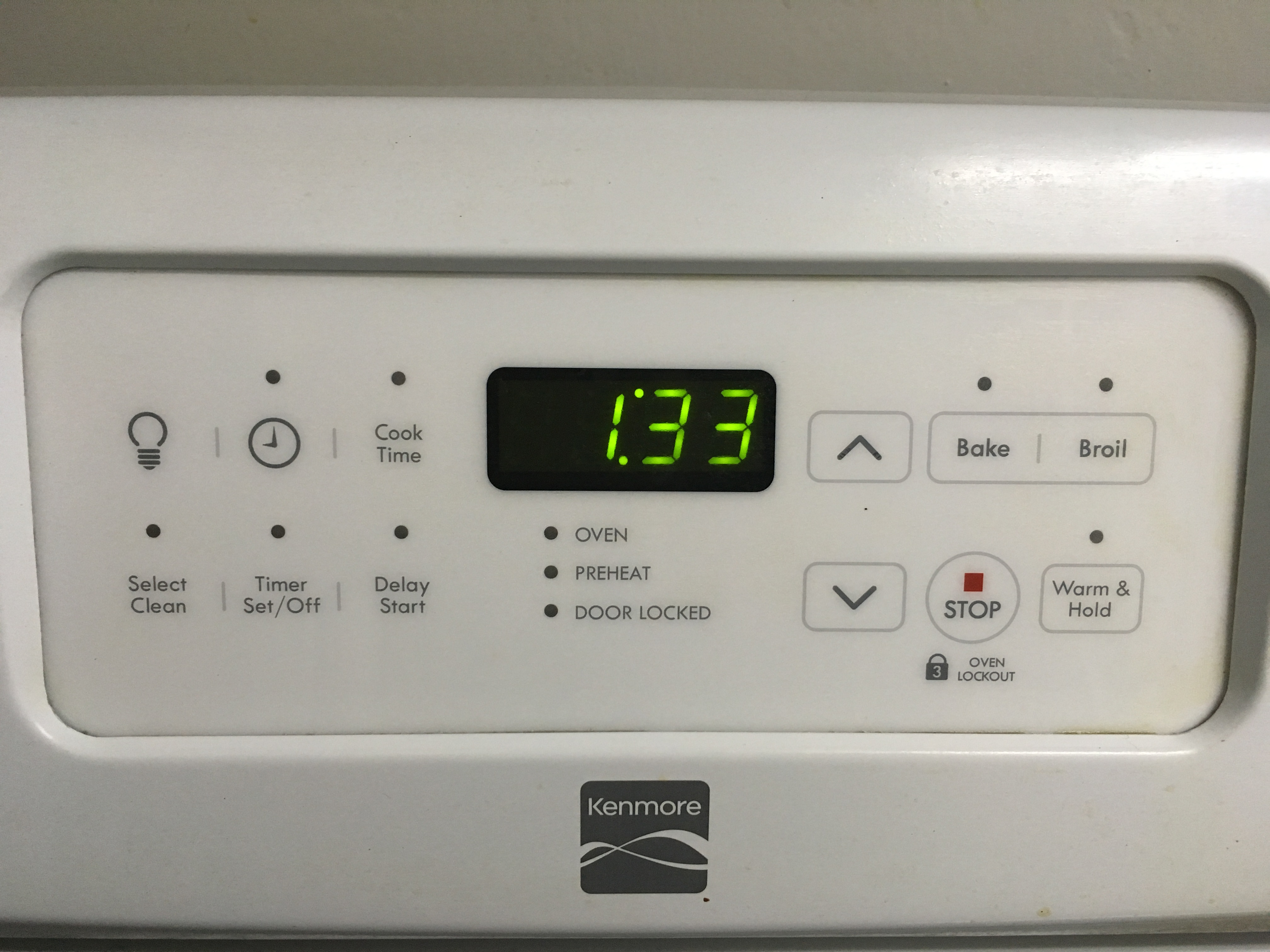 Technic Electric Oven Timer ~ Model kenmore free standing electric stove