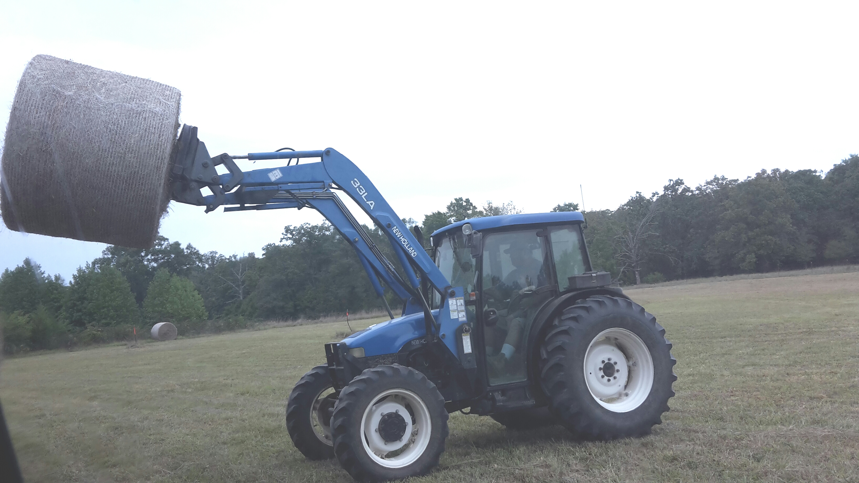 I have a 2001 New Holland TN75S cab tractor (which i purchased new