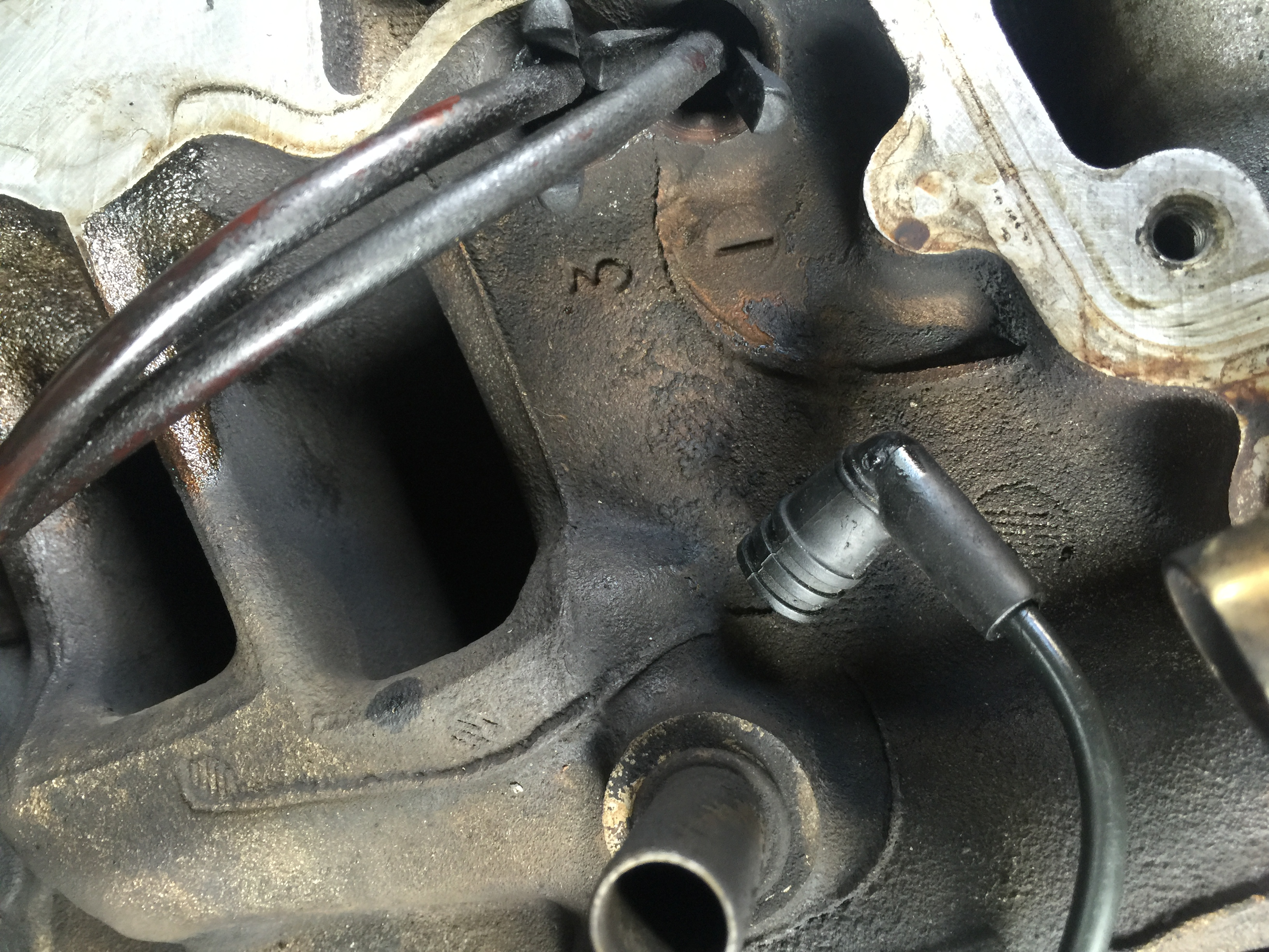 A question about timing 1996 Chevy vortec 5 7L V-8 I have a