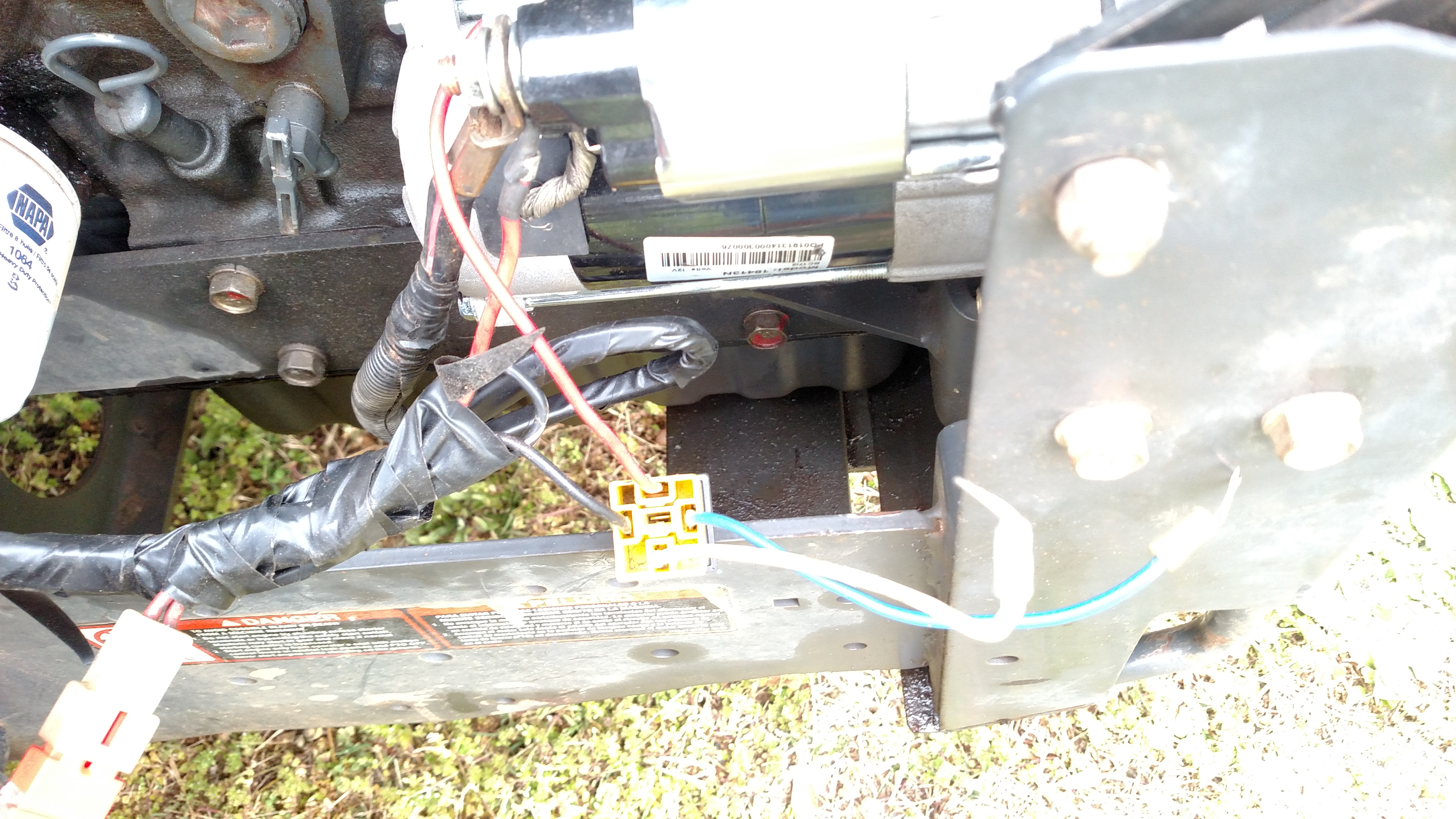 Have a KUBOTA zd331 that someone has replaced the starter on ... Kubota Zd Wiring Diagram on kubota l3800, kubota 72 inch mower, kubota 60 inch mower belt, kubota snow plow, kubota mower parts lookup, kubota l3940, kubota landscape rake, kubota zg striping kit for, kubota zero turn prices, kubota zero turn mowers, kubota front loader, kubota rtv900, kubota zd221 service manual,