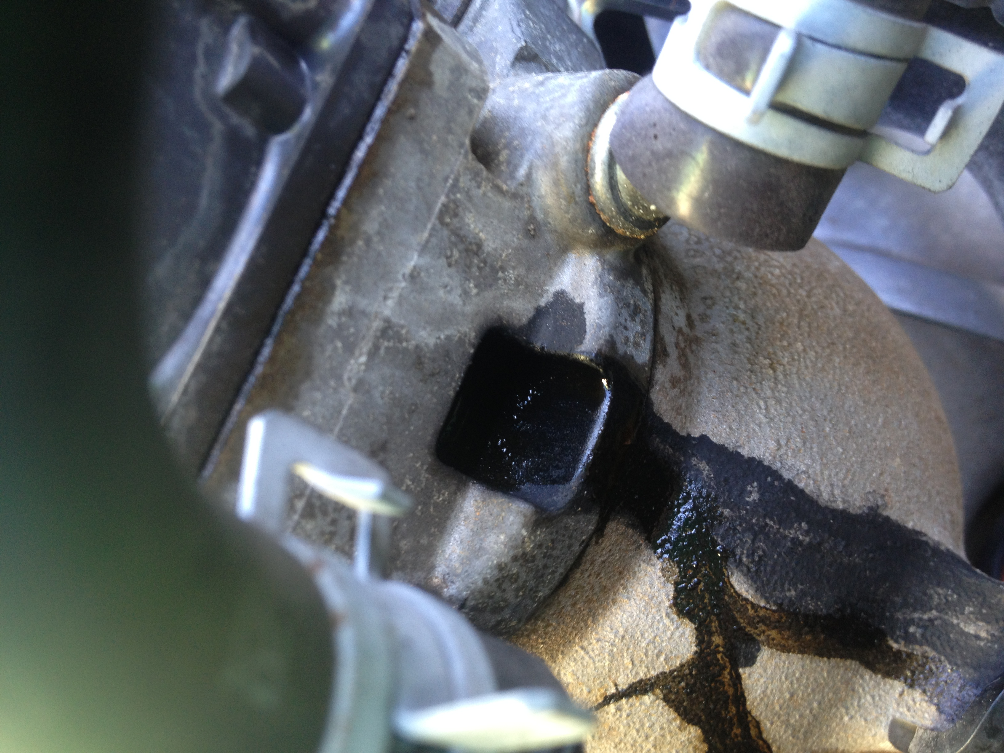 i am loosing coolant but it is not leaking on the ground i have seen were it is leaking on the. Black Bedroom Furniture Sets. Home Design Ideas