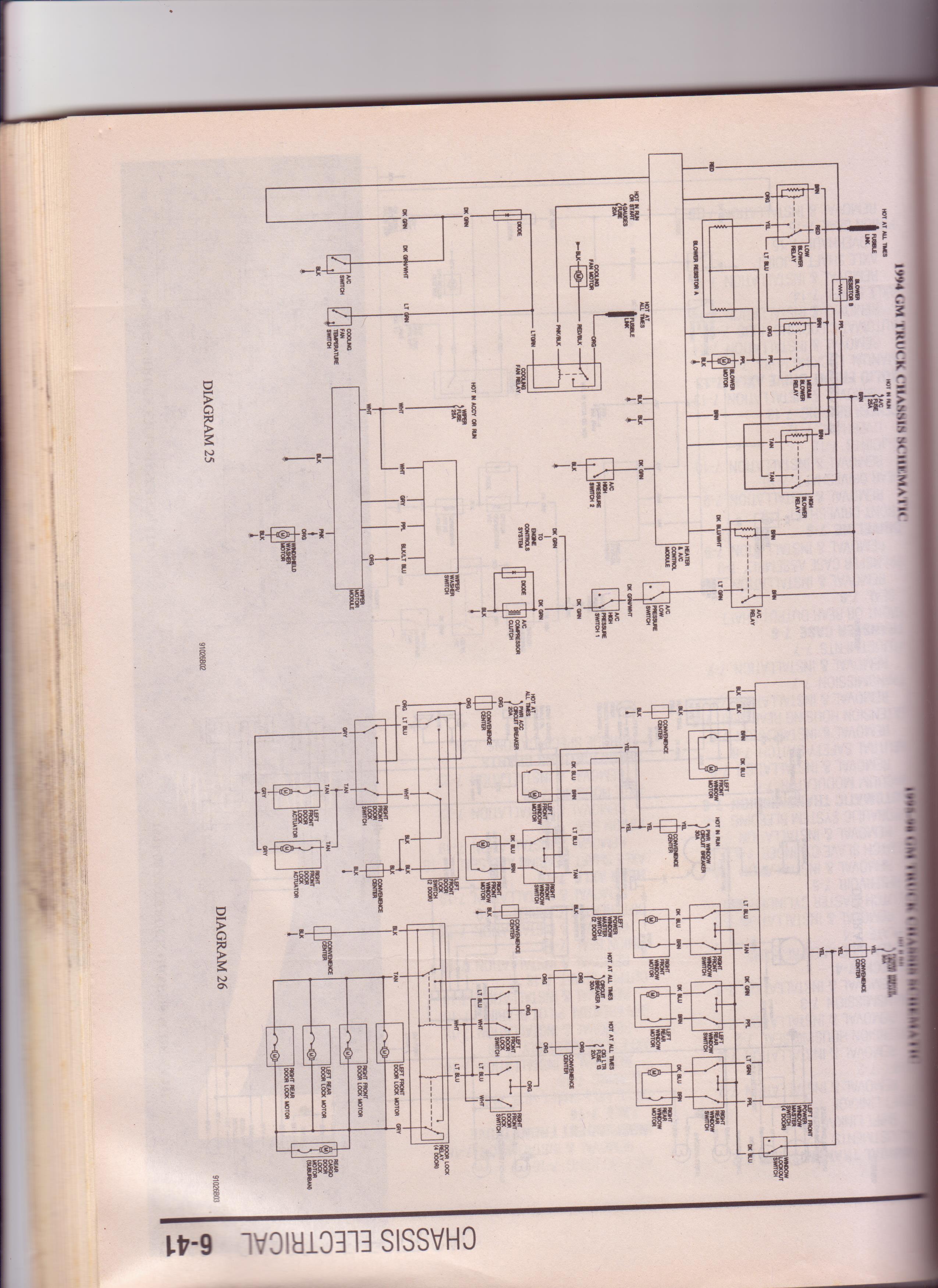 1995 Suburban Ac Wiring Free Diagram For You 93 Schematic Library Rh 78 Fahrschulehartl De 1994