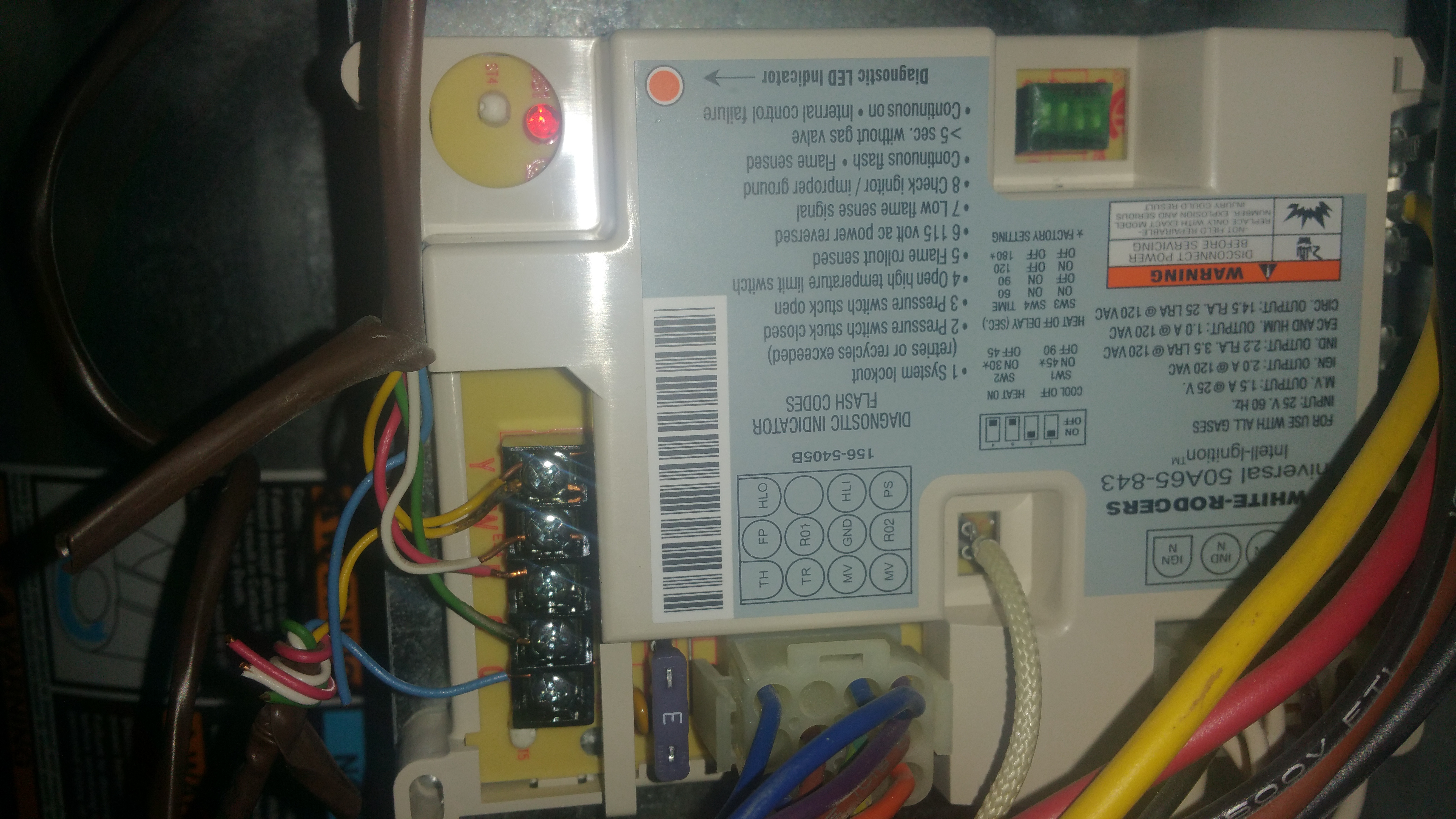 White Rodgers 50a50 241 Wiring Diagram