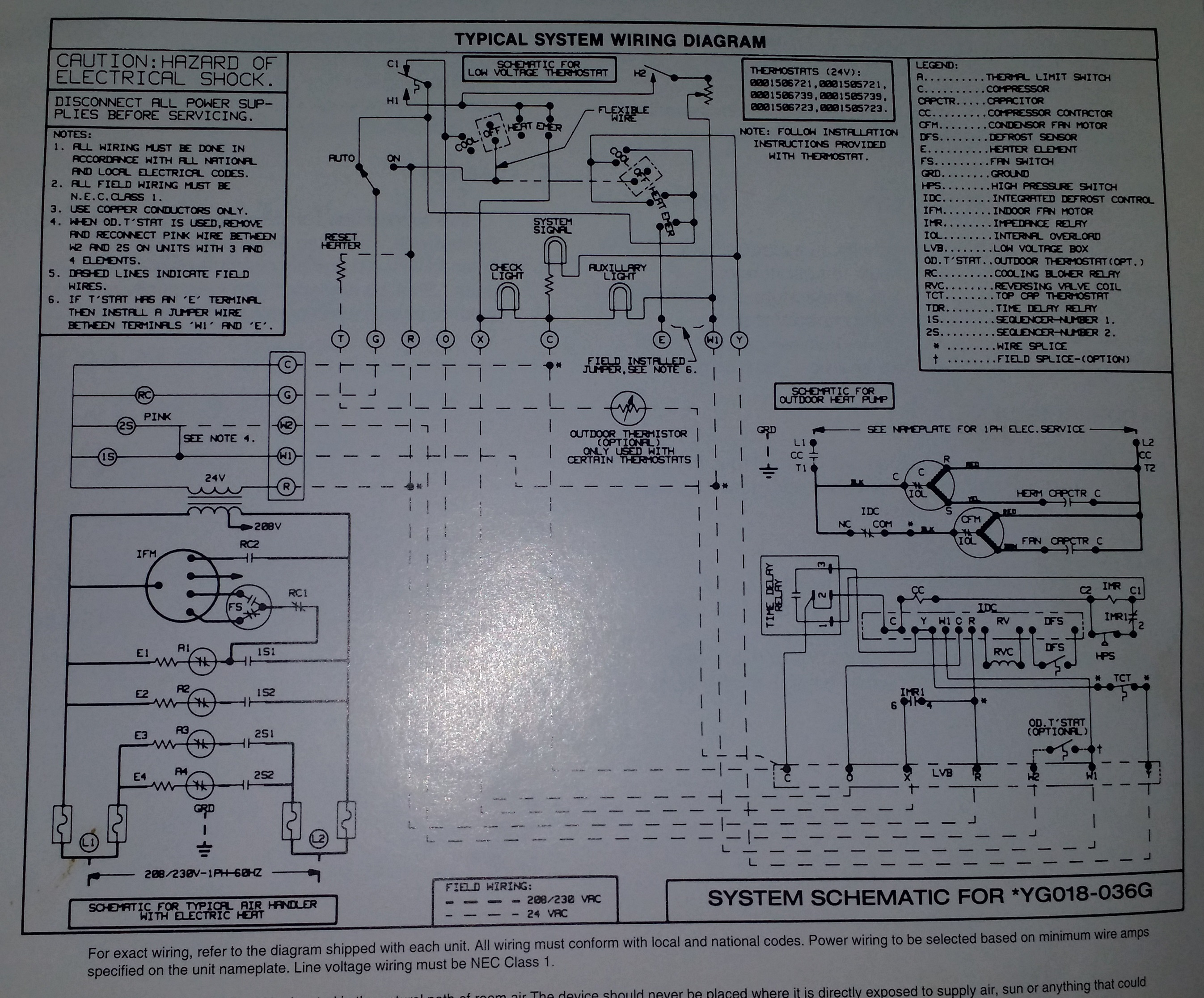 lux thermostat tx9600tsa wiring diagram for heat pump   53