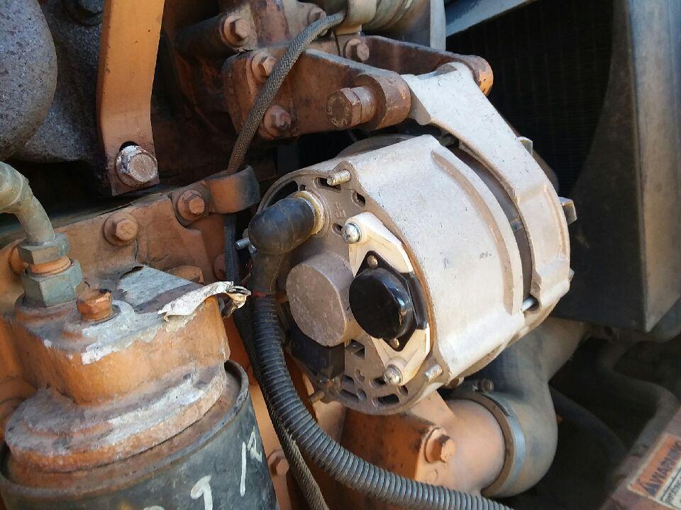 I have a 1994 super k backhoe. My alternator is not charging ...  K Case Backhoe Wiring Diagram on