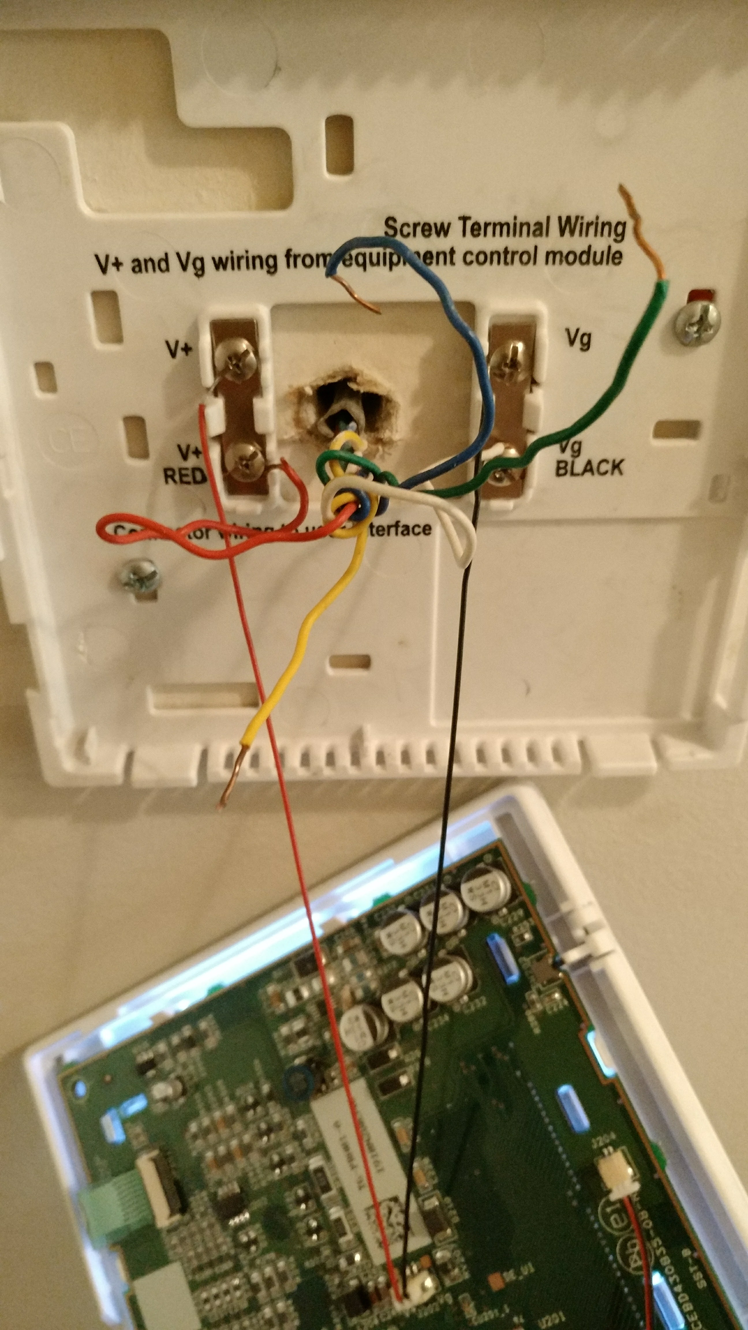 Need Help Converting To Legacy Thermostat Wiring