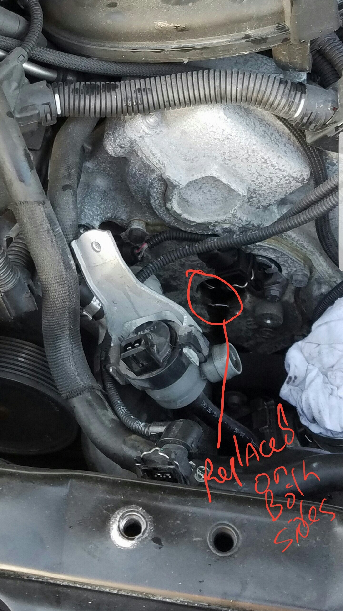 130308 Vanos, outlet control error, position not reached
