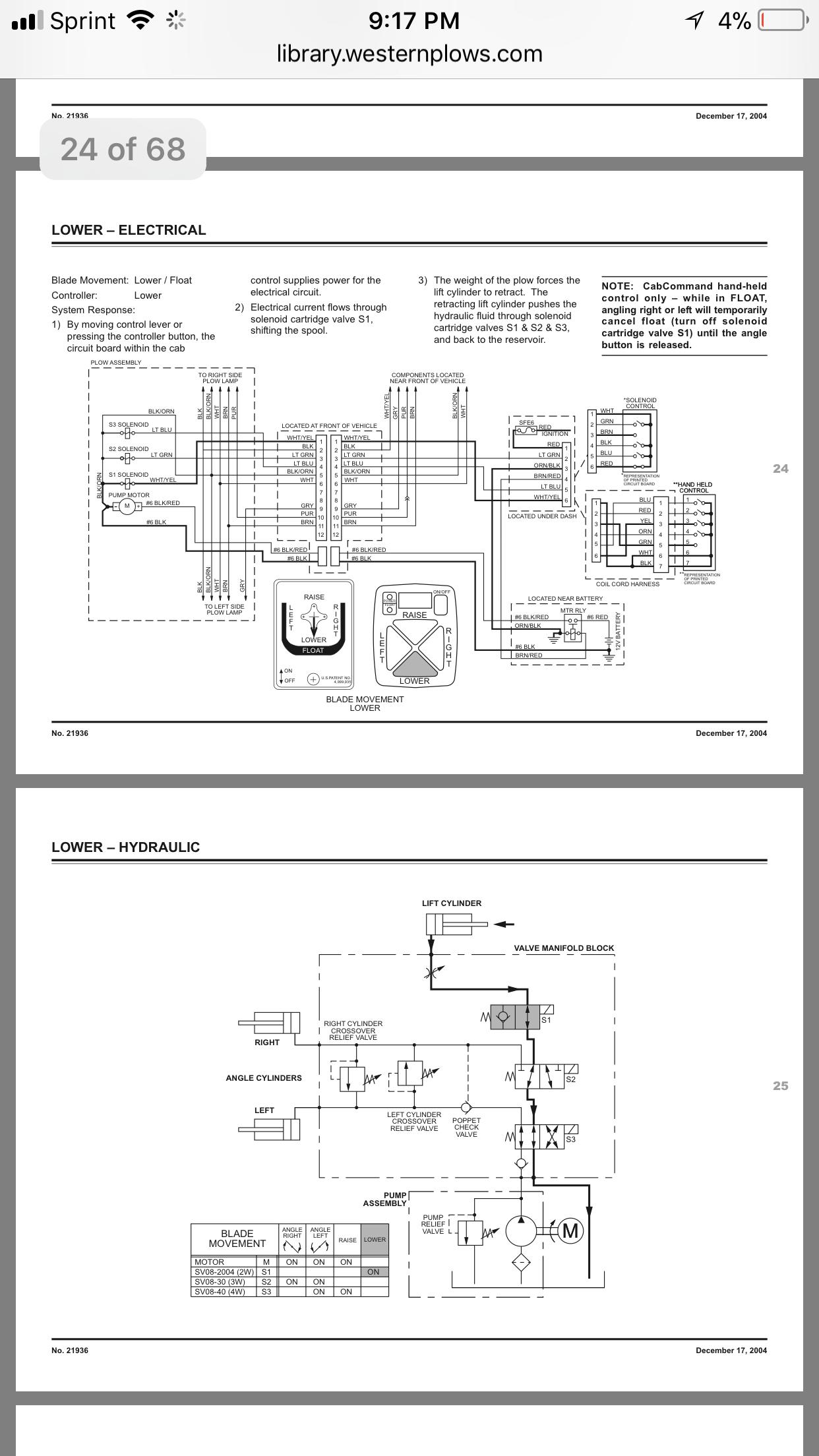 Fein Meyer E 47 Pflug Schaltplan Zeitgenössisch - Elektrische ...
