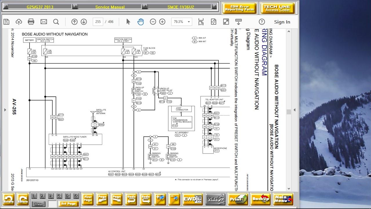 30 2013 Infiniti G37 Fuse Diagram