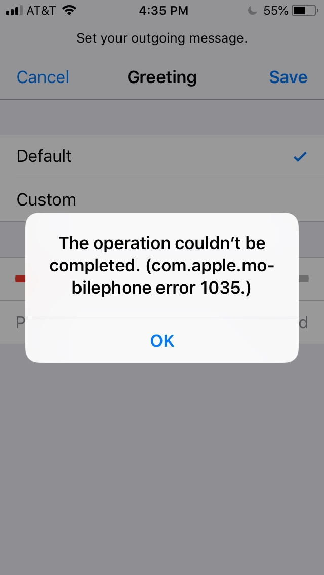I am trying to record a for my iphone 5s and i keep getting this image0g m4hsunfo