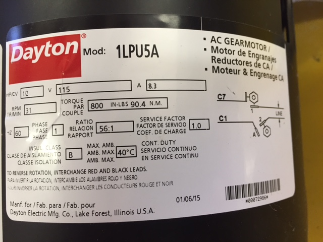 trying to wire my dayton 1lpu5 to help what do you need
