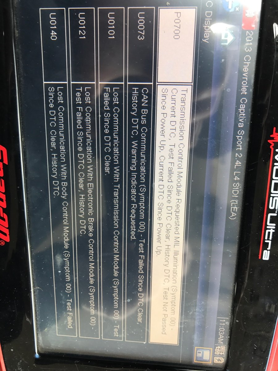 I have a 2013 Chevrolet Captiva sport 2 4L it has a P0300 code and a