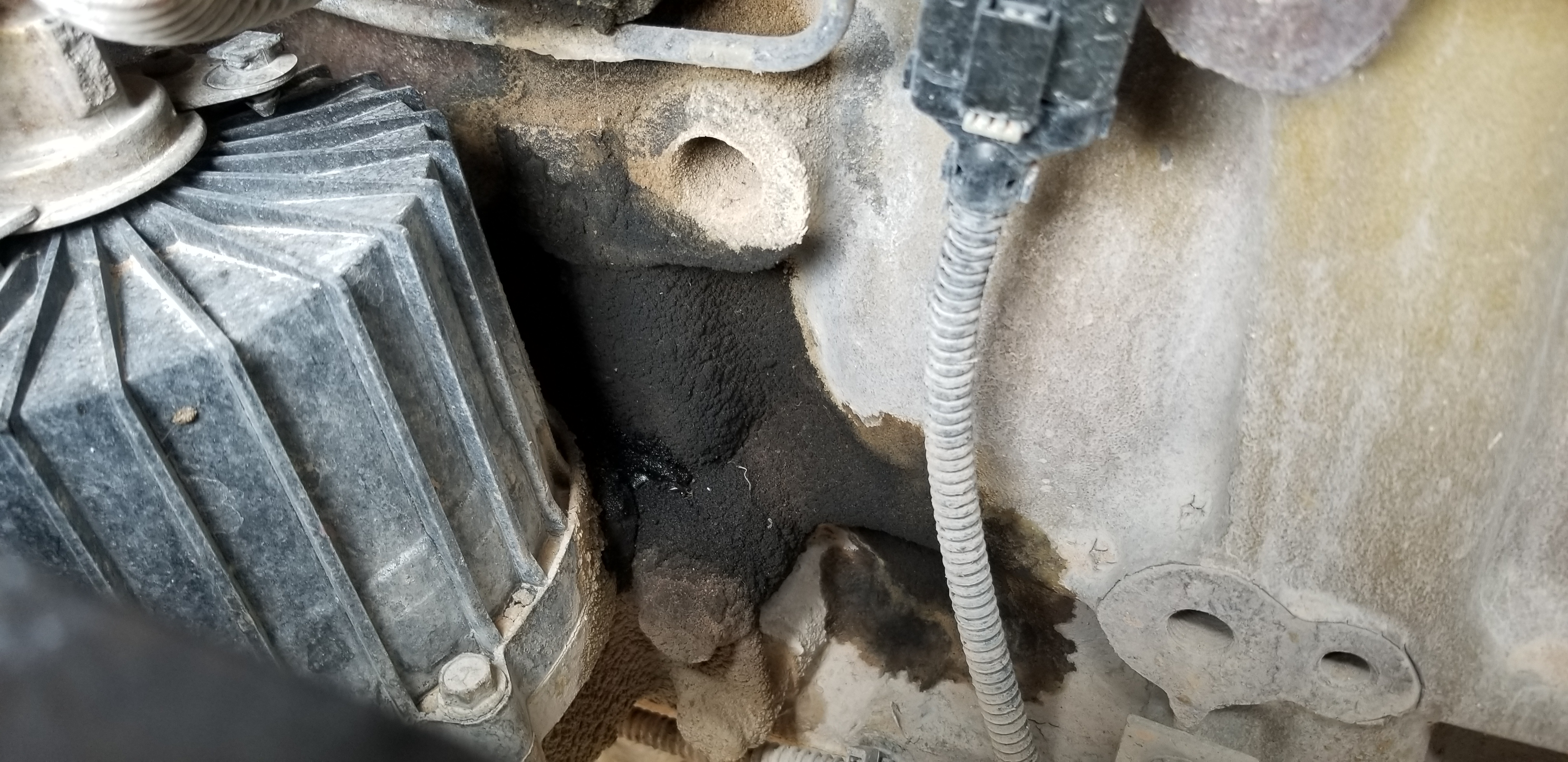 What is this part? And there is smoke coming out from the