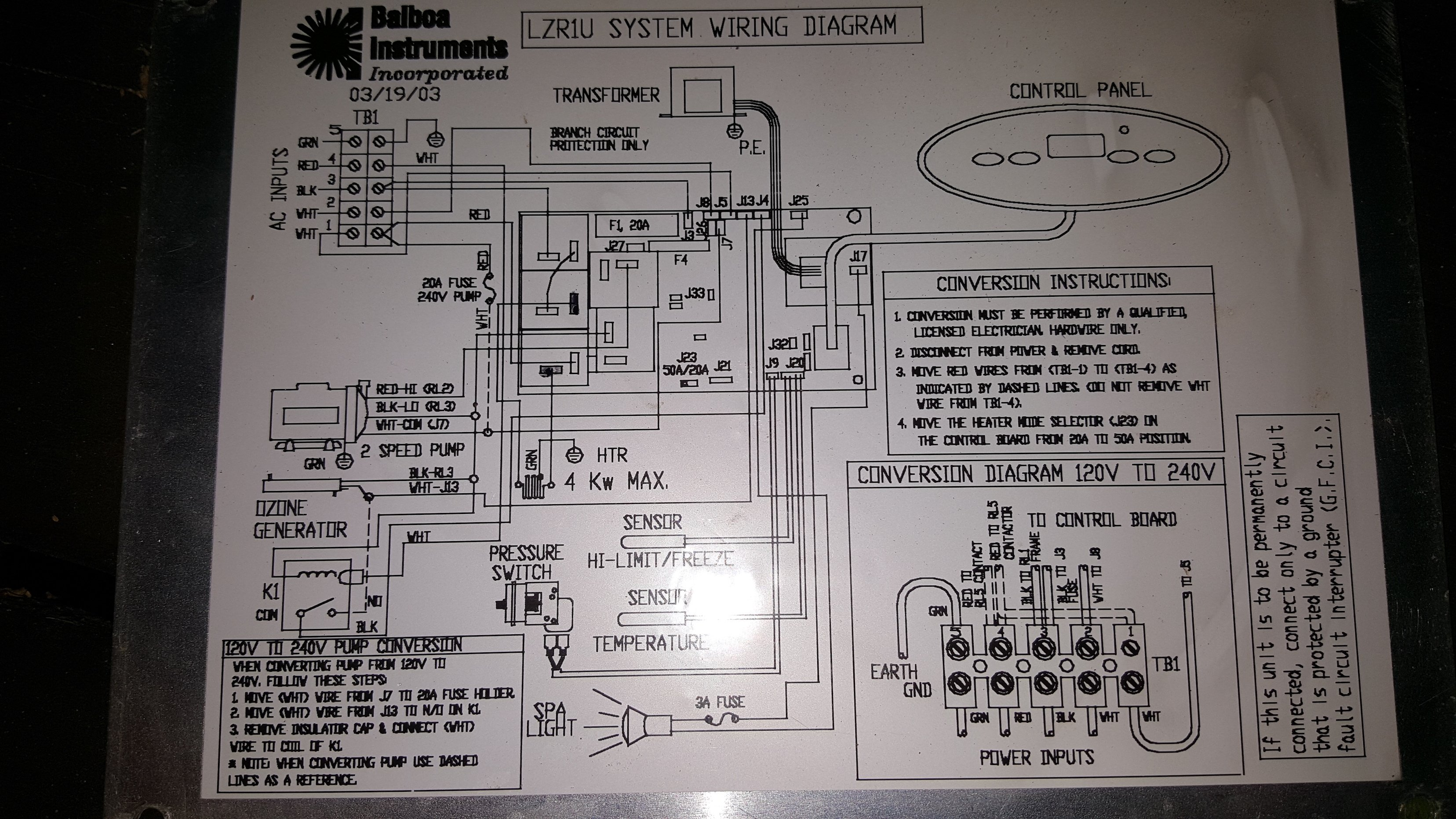 Marquis Spa Wiring Diagram Diagrams Jacuzzi Parts Hot Tub