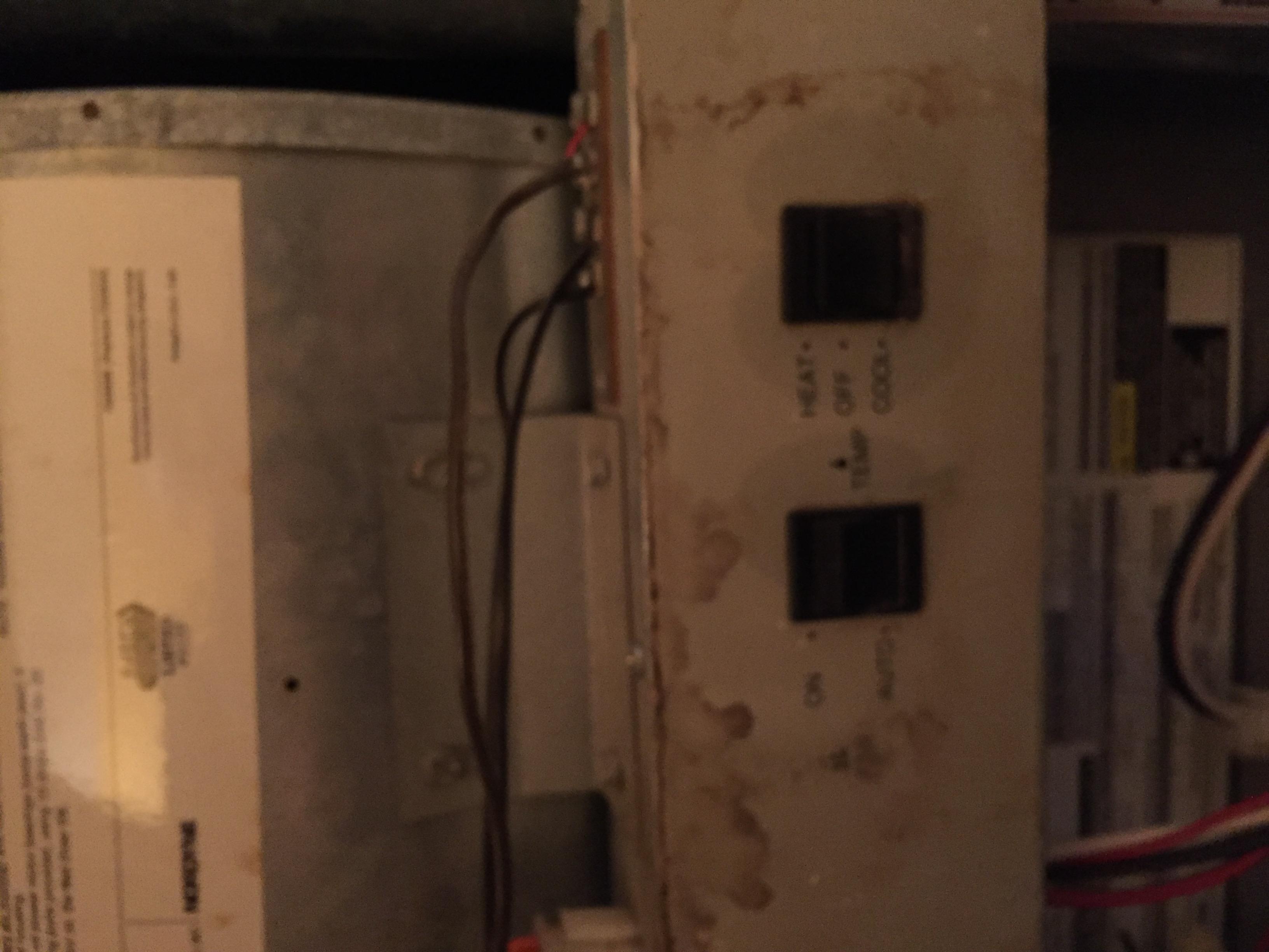 IMG_1103 Nordyne Gas Furnace Wire Diagram on pilot kit, m7rl, e3eb 010h, bruner chamber, m1mb056abw burner, air intake, mobile home oil, burnner chamber,
