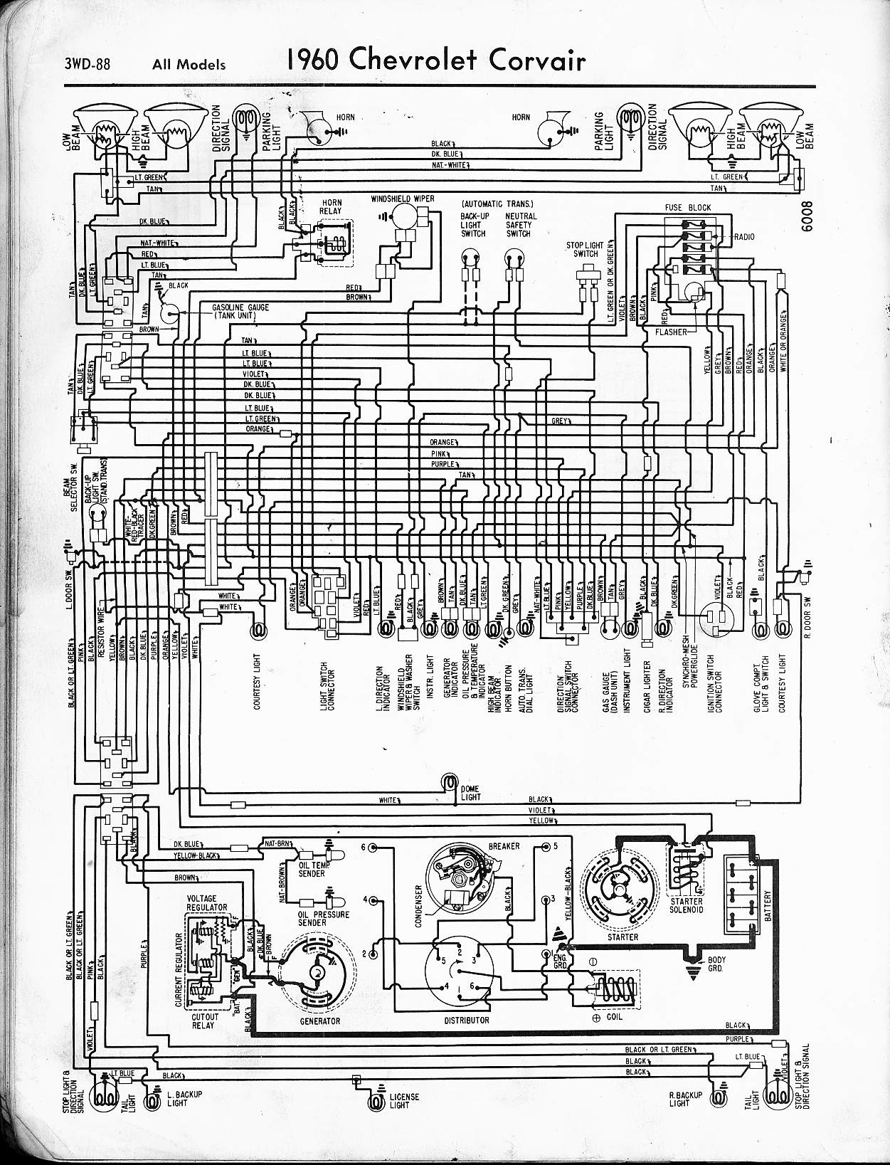 Need Complete Wiring Diagram  Alternator W   Built In