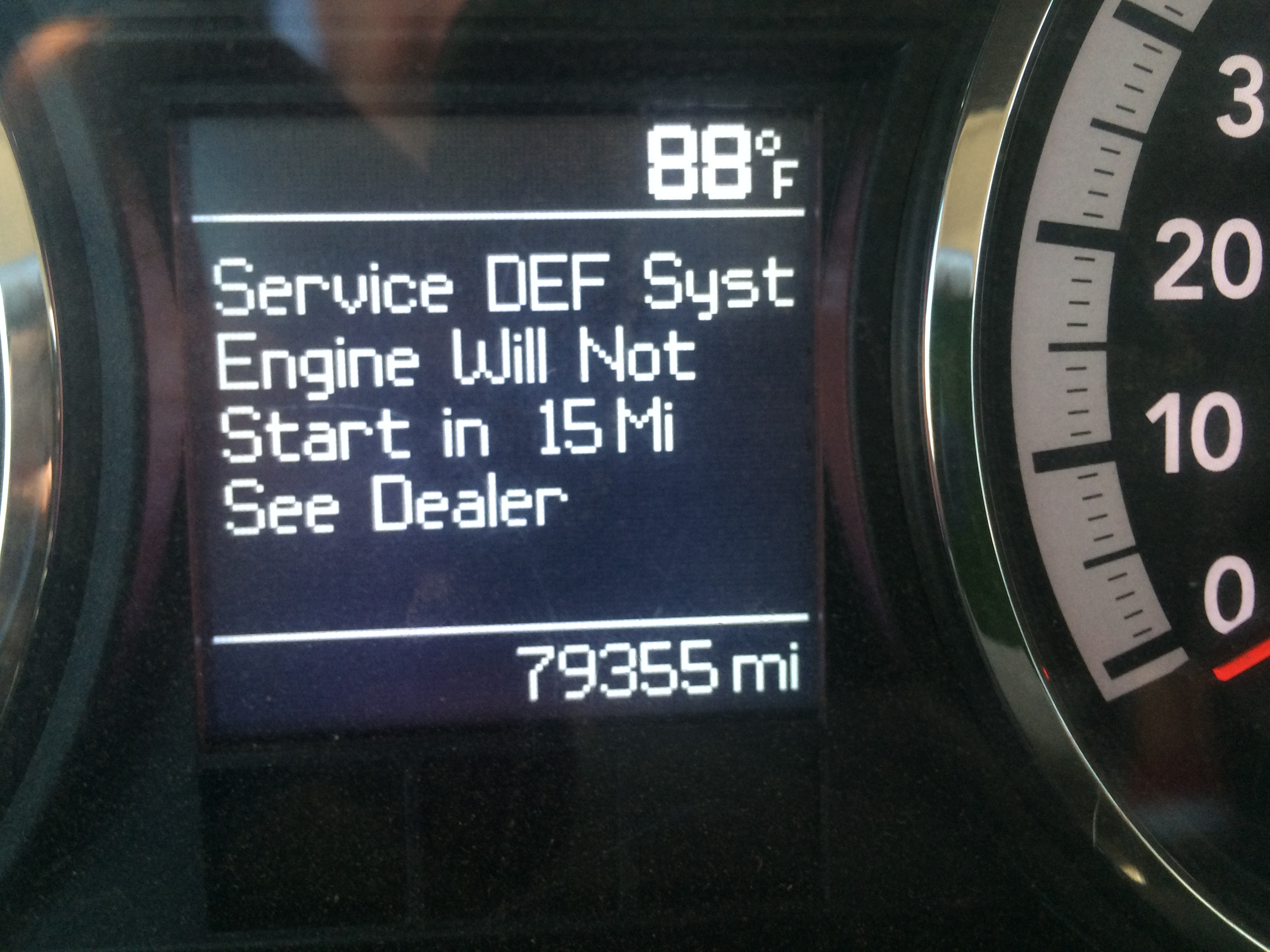 Why Does My Truck Say Service Def System See Dealer