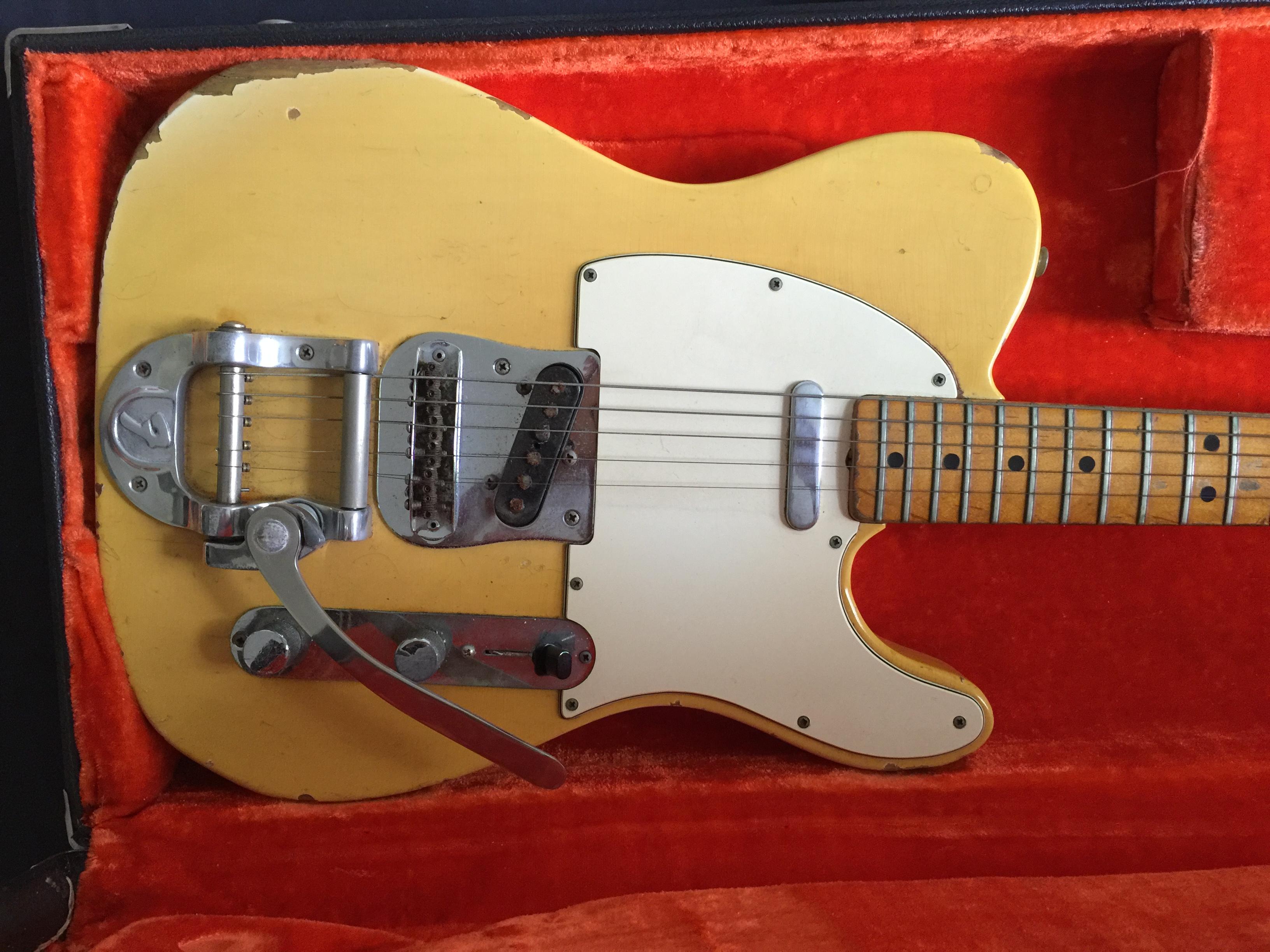 I have 2 Fender guitars  The older one is Fender Telecaster # 374220