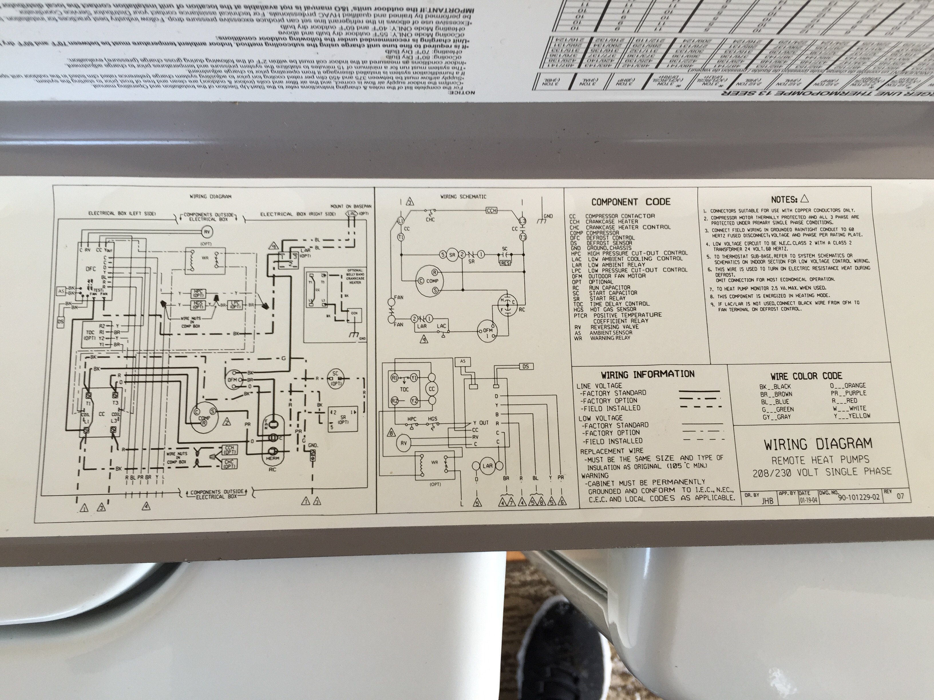 Wiring Diagram For Thermal Zone Heat Pump : Thermal zone wiring diagram grandaire