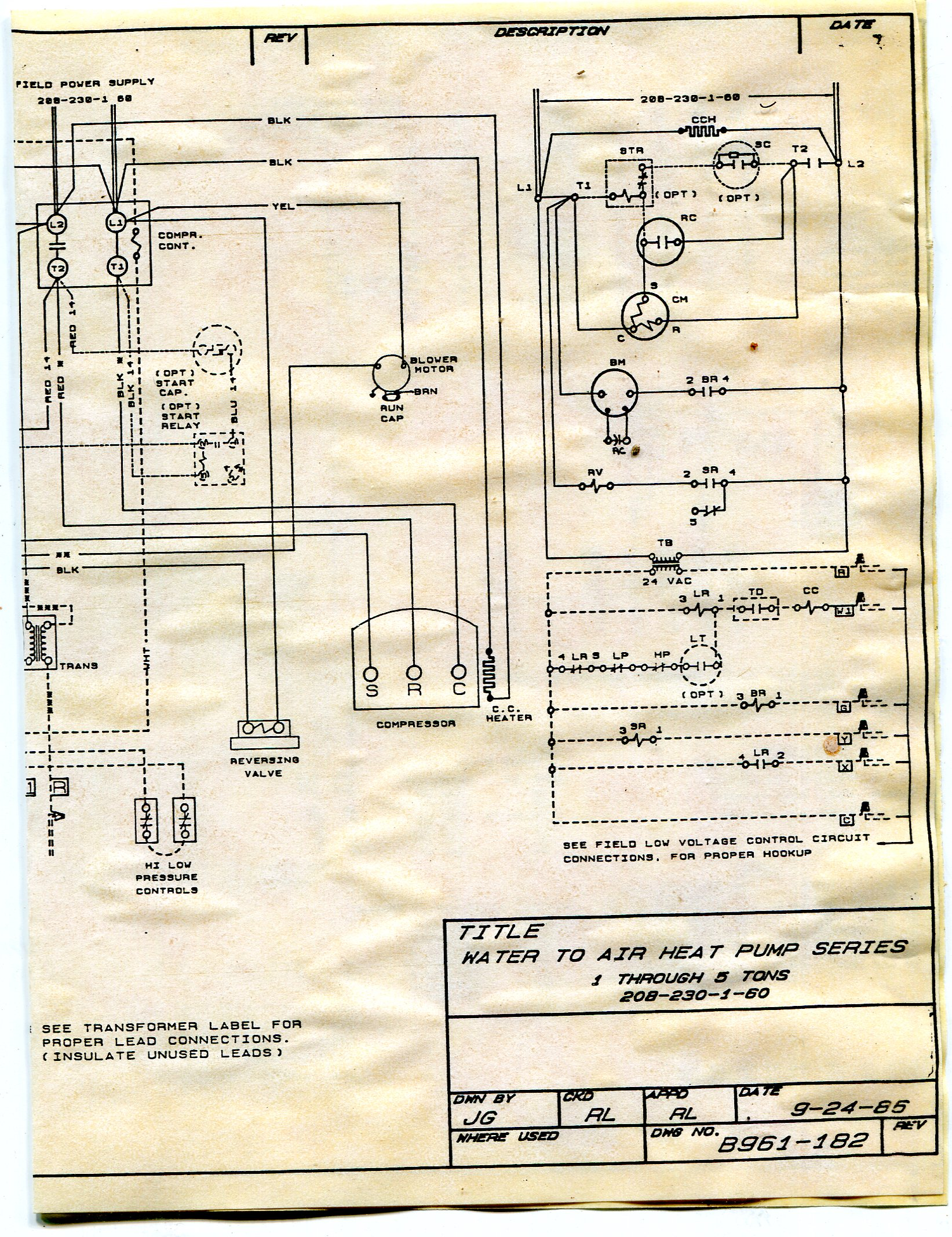 Do you have an email address where I can send you wiring ... Addison Heat Pump Wiring Diagram on