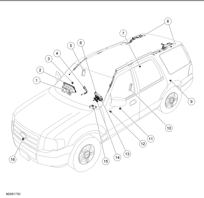 2010 Expedition Airbag Light On Code B2296 Replaced Front Impact