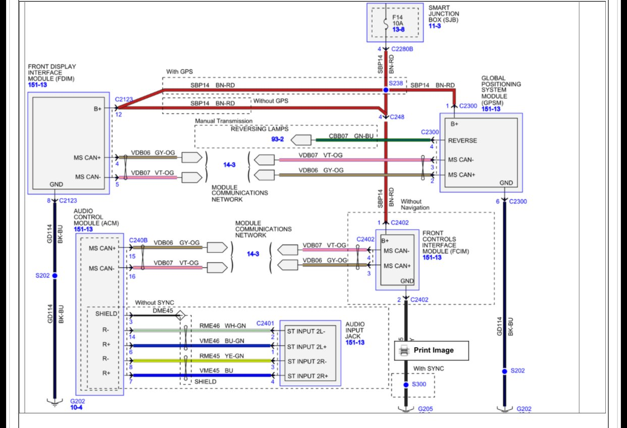 I Need A Stereo Wiring Diagram For A Factory Radio For A
