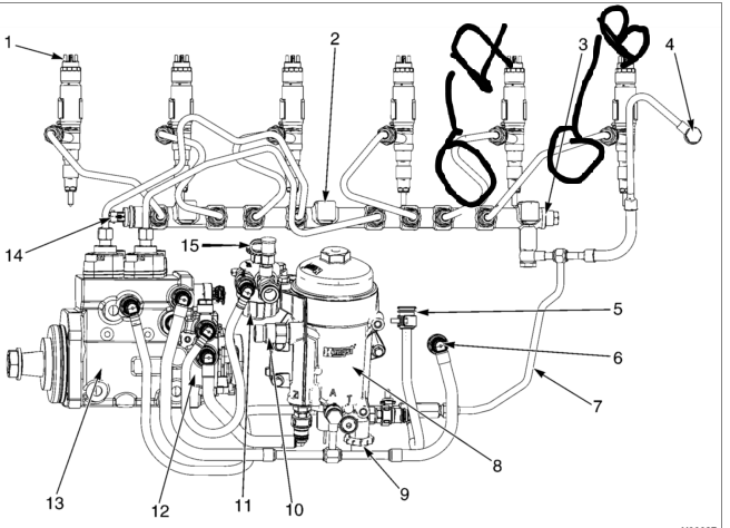 Farmall 300 Engine Diagram