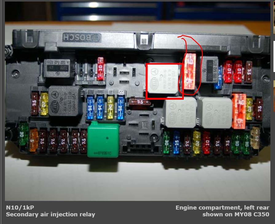 Cd Aa Dd D B Cd C Secondary Air Pump Fuse And Relay