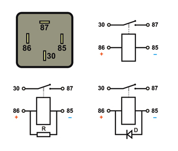 Dorable How To Read A Relay Component Electrical Diagram Ideas