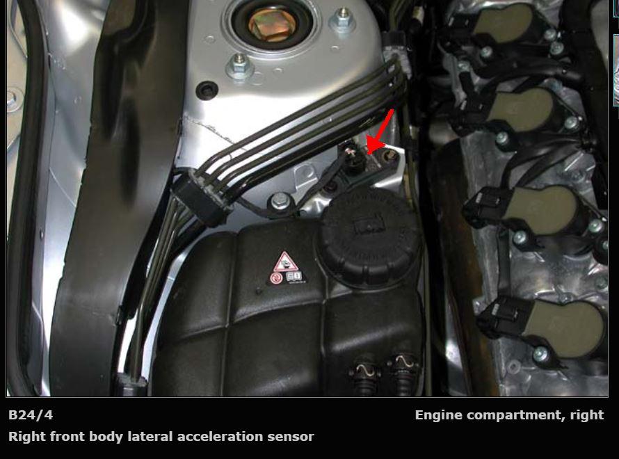 I have a 2006 mercedes benz 500sl the rear abc system drops