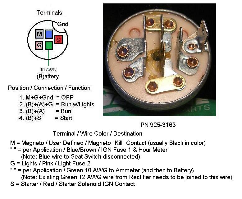 How do I test the 7 prong ignition switch, 1 day, yes, no  Prong Ignition Switch Wiring Diagram on 2 prong switch wiring diagram, 3 prong switch wiring diagram, 5 prong switch wiring diagram,