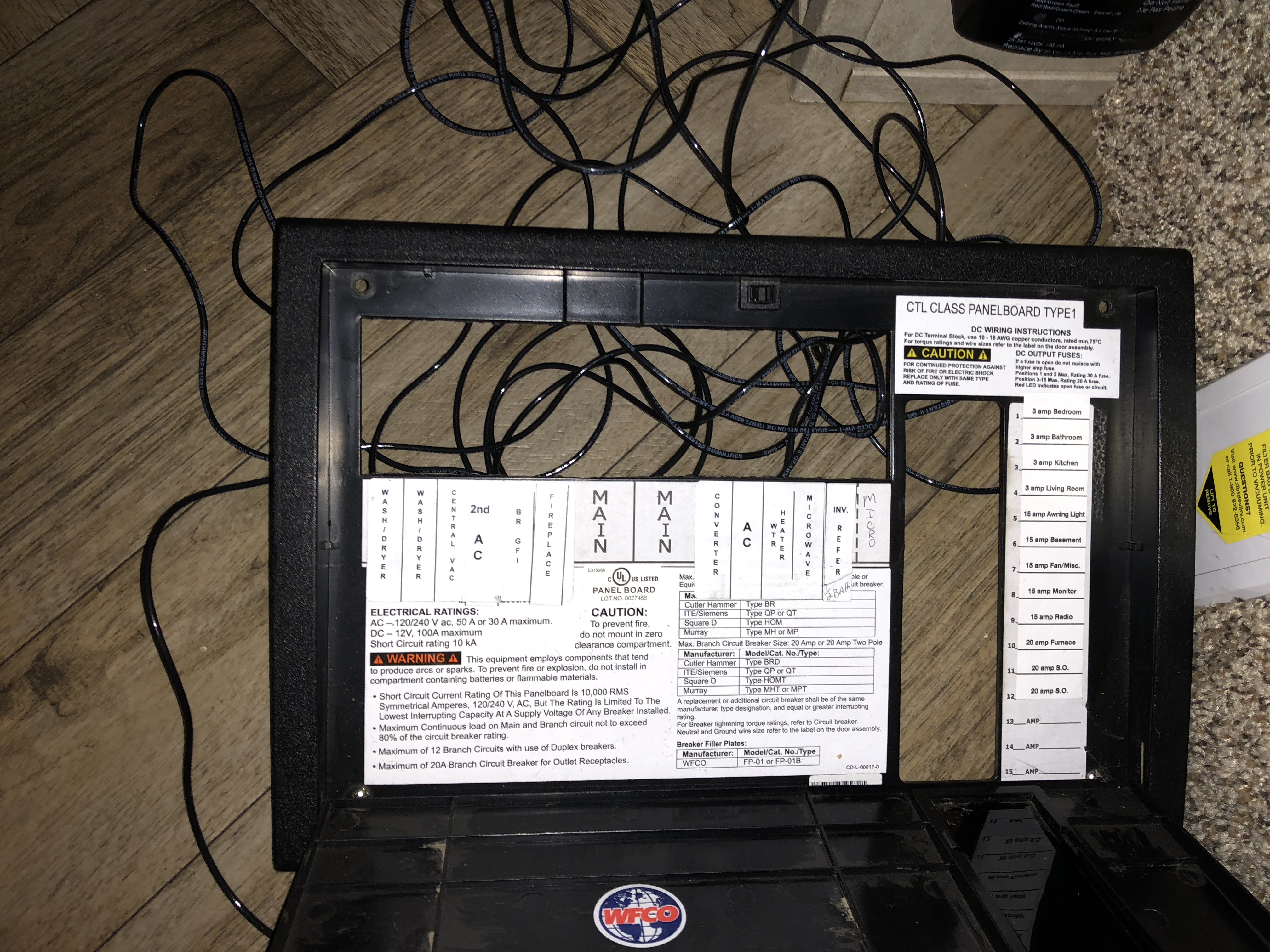 How is a converter wired in a fifth wheel/ rv? Please be detailed. Wf Converter Wiring Diagram on